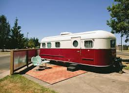 Diy travel trailer Campers If Youre Interested In More About Vintage Travel Trailers Consider Gearjunkie Vintage Travel Trailers Amazing Makeovers Bob Vila