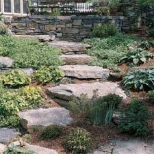 Image result for stacked stone retaining walls