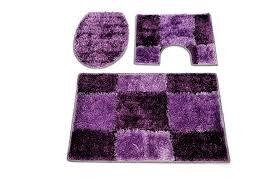 lovely fine purple bathroom rug sets black blue green pink 3 piece purple bathroom rug sets