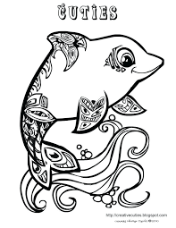 Coloring Pages Of Cute Baby Dolphins Cute Baby Animals Coloring