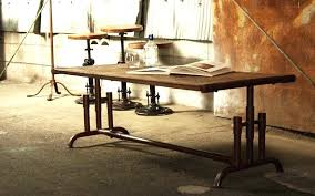 iron industrial furniture. Iron Pipe Furniture Industrial Using Black For T