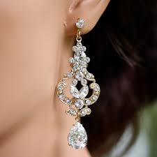 surprising crystal chandelier earrings for wedding 4 f0 9f 94 8ezoom hybqgjr