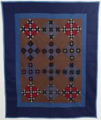 Midwest Amish Double Nine Patch Quilt: Circa 1920 &  Adamdwight.com