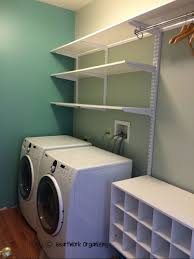 ... Laundry Room Wall Shelves Unfinished Basement Laundry Room Ideas Ideas  About Basement Laundry Rooms On Pinterest ...
