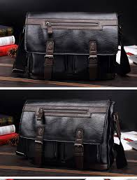 Designer Shoulder Bags Mens Designer Vintage Briefcase Dual Black Brown Leather Messenger Bag Mens Crossbody Laptop Bags