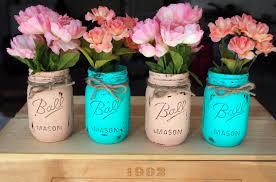 Painted Mason Jars Ideas For Mason Jar Paint 22997