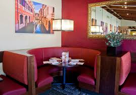 the newly redesigned olive garden booths
