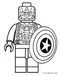 Captain America Coloring Page Free Printable Captain Coloring Pages