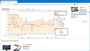 Keepa browser extension lets you track product price history during ...
