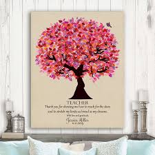 Gift For Teacher End Of School Year Gift Personalized Thank You Gift Principal Gift Teacher Appreciation Custom Art Print Lt 1173