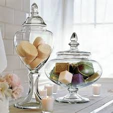 Apothecary Jars Decorating Ideas Amusing Apothecary Jars Bathroom Decor With Shampoo Conditioner 82