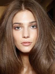 versace spring 2016 hair