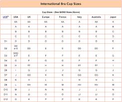 Bra Size Calculator Bra Size Converter Conversion Chart