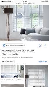 Houten Jaloezieën 3x Ophangen In De Woonkamer Werkspot
