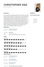 Architecture Intern Resumes Daryll Reyes Corona Daryllcorona On Pinterest