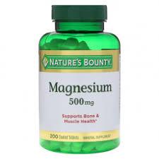 <b>Магний 500 мг 200</b> таб. Nature's Bounty