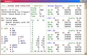 Bridge Simulations Responding To 15 17 Notrump 5 5 Majors