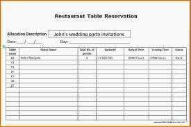 Perfect Reservation Book Template Mold - Resume Ideas - Namanasa.com