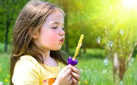 Cute Baby Girl Bubble Hd ...