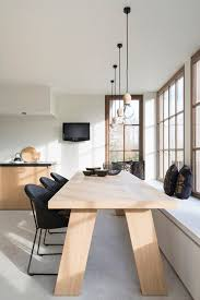 Wooden Black And White Interior Design