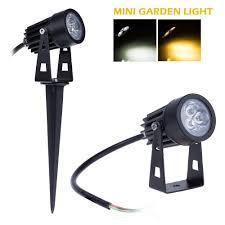 Garden Led Spot Lights 10x 12v Mini Outdoor Lighting 3x1w Outdoor Lighting Led Lawn