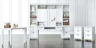 crate and barrel home office. Crate And Barrel Computer Desk Office Furniture Home White With Nifty