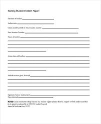 8 Nursing Report Templates Free Pdf Format Download Free