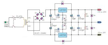 simple 5 volt power supply circuits and diagrams digital power supply diagram 5 volt output