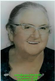 Lydia Margaret Rife Ratliff (1898-1978) - Find A Grave Memorial