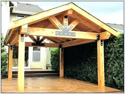 free standing patio cover designs steps wood plans roof evanwong
