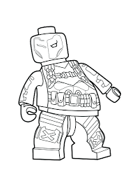 Check out our superman villain selection for the very best in unique or custom, handmade pieces from our more colors. Lego Deathstroke Coloring Page Superman Coloring Pages Dc Villains Lego Deathstroke