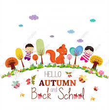 Goodbye Summer Enjoy Autumn Happy Smiling Girls And Boys Ground Round  Background, Autumn, Background, Beauty PNG and Vector with Transparent  Background for Free Download