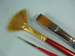 Acrylic Paint Brush Size Chart All About Paint Brushes Scale Model Guide