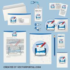 Office Stationery Design Templates Download Vector Office Stationery Templates Vectorpicker