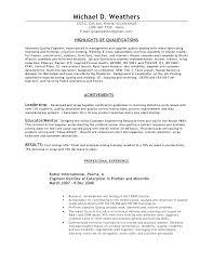 Quality Assurance Resume Samples Quality Assurance Resume Samples