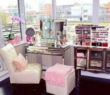luxury makeup vanity. Beauty, Bedrooms, Dream Closet, Dressing Room, Girly Stuff, Makeup Vanity, Luxury Vanity
