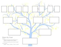 5 Generation Printable Family Tree Template Generations C 4