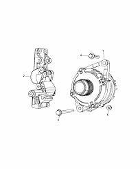 2014 dodge journey generator alternator and related parts diagram i2301212