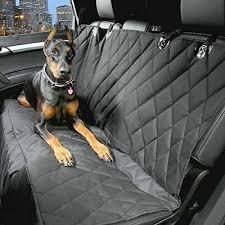 premium quilted pet hammock rear seat