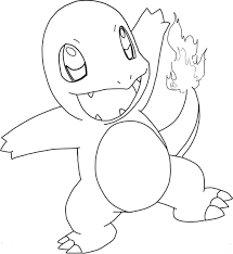 Small Picture Charmander Coloring Page Home For diaetme