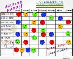 Chore Chart Board