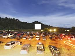 vue de la faaade ouest de. Click To Enlarge A Saturday Night At The Auto Vue Drive In Colville Earlier This Month. - De La Faaade Ouest