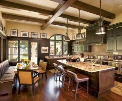 Spanish Style Kitchen Decor Ravishing Country Spanish Kitchen Decor With Exposed Wood Ceiling