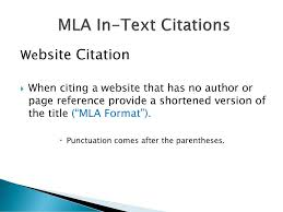 Mla Formatting Ppt Download