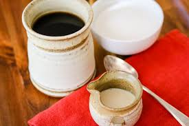 an easy and frugal alternative to bought french vanilla creamer