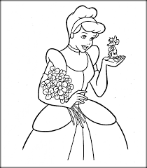 Cinderella Colouring Pages Printable Free To Print Online
