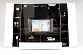 small medium large original source via black stained solid wood sotrage cabinet entertainment center with open shelves and glass doors