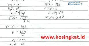 Itulah yang dapat kami bagikan terkait kunci jawaban buku matematika kelas 10 kurikulum 2013 edisi revisi 2017. Kunci Jawaban Matematika Kelas 10 Halaman 113 Uji Kompetensi 3 2 Kosingkat