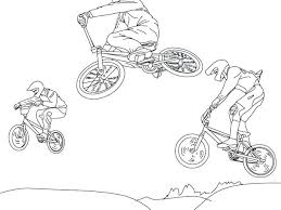 Bmx Coloring Pages Download By Tablet Desktop Original Size Back To