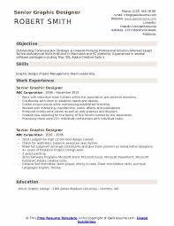 graphics design resumes senior graphic designer resume samples qwikresume